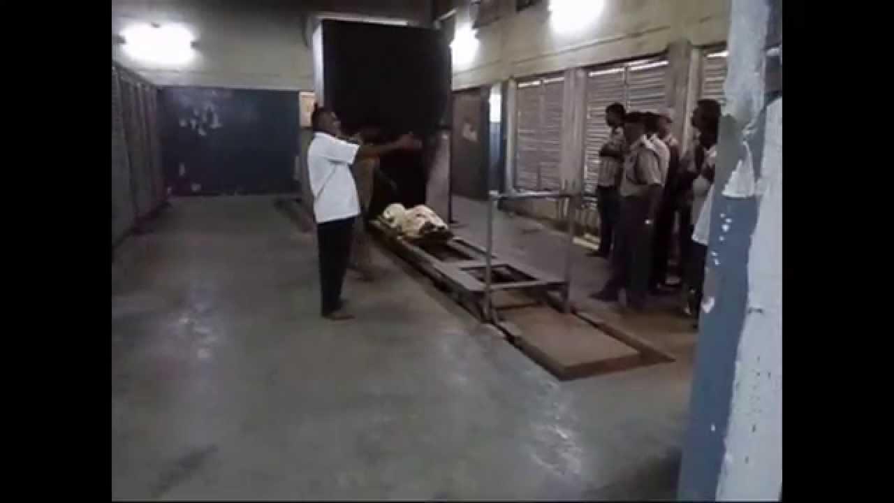 Humban Body Cremation In Electric Crematorium Fine Air
