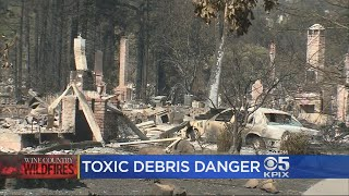 Authorities Reiterate Danger Of Toxic Ash And Debris In Sonoma County
