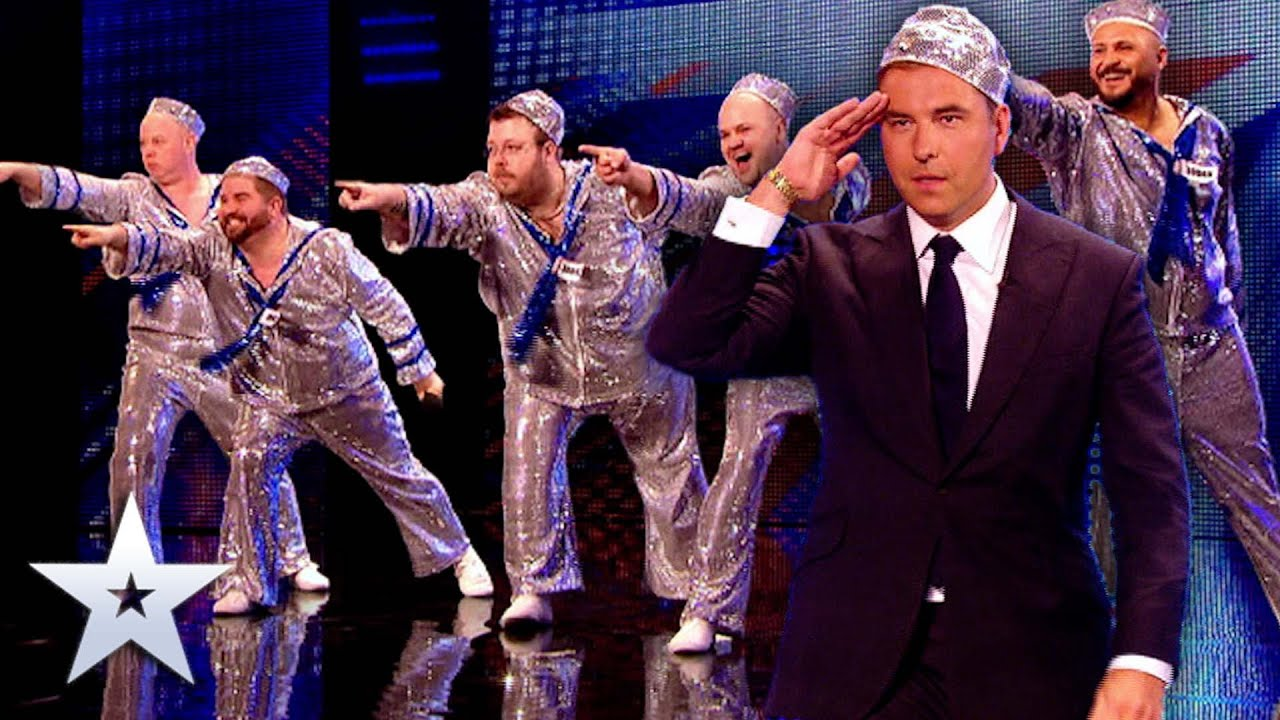 David Walliams joins act for one EPIC SHOW!   Unforgettable Audition   Britain's Got Talent