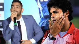 MS Dhoni Makes FUN Of  Sreesanth At M.S.Dhoni Trailer Launch