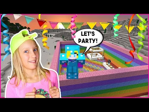 Party Time / Minecraft Party Room