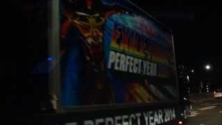 EXILE TRIBE PERFECT YEAR 2014 広告宣伝車