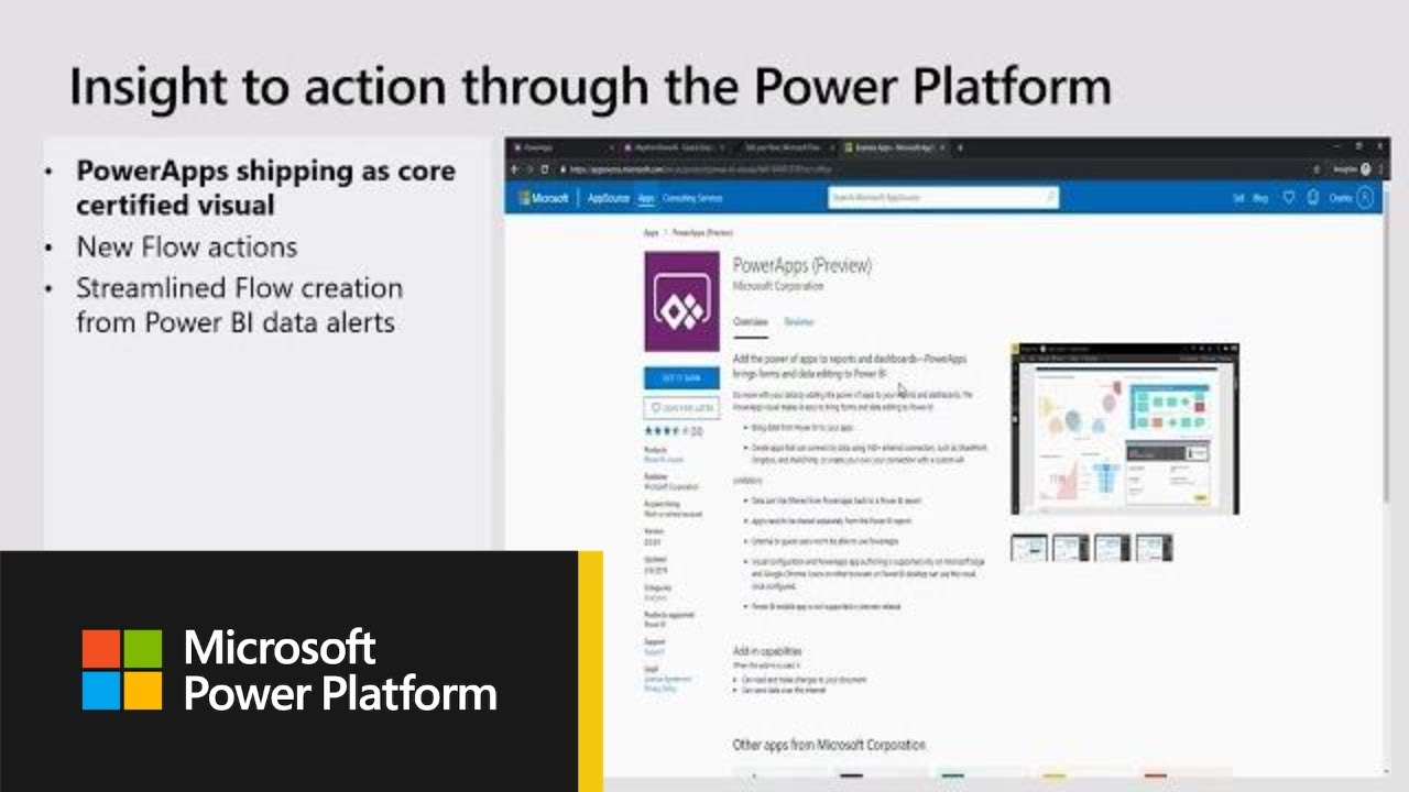Microsoft PowerApps: Introduction to PowerApps and integration with Power  BI - BRK3021