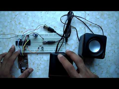 Wave audio player using PIC18F4550 microcontroller and SD card