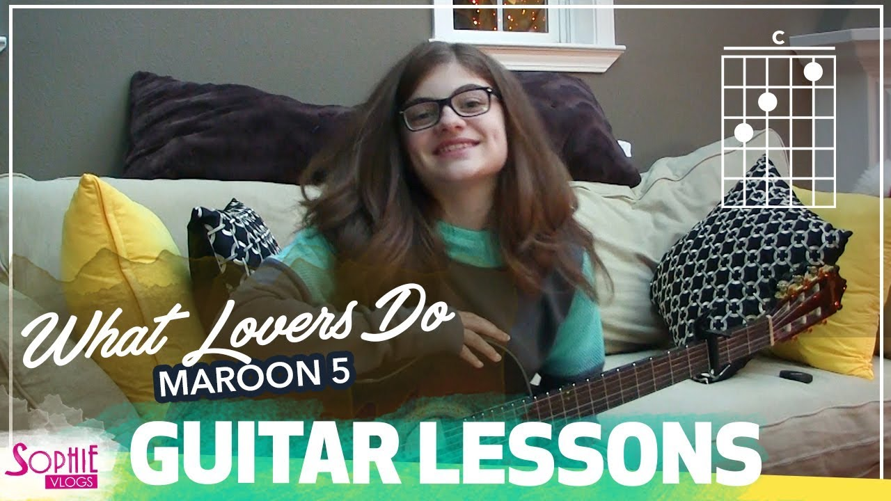 What Lovers Do Maroon 5 Easy Guitar Songs For Beginners Chords
