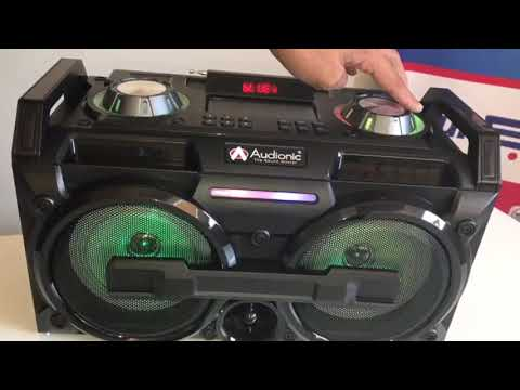 Audionic Music Station DJ50, With Bluetooth And USB/FM/SDcard Reader