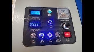 K40 Laser control panel best upgrade under $10.