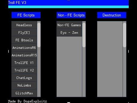 Roblox Fe Troll Scripts Cara Download Cheat Roblox Lumber Tycoon