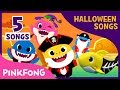 Halloween Baby Shark Compilation | Baby Shark | Halloween Song | Pinkfong Songs for Children