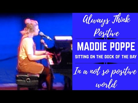Maddie Poppe performs Sitting on the Dock of the bay