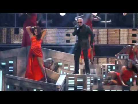 Pitbull Feat Marc Anthony (Latin Grammy) HD 2011 Video