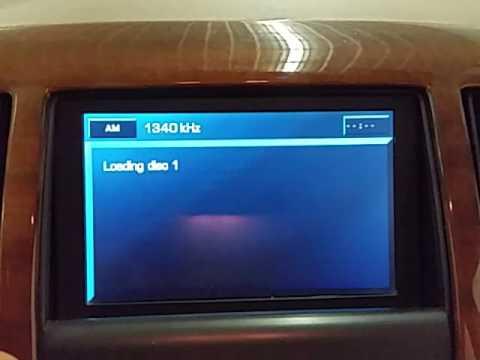 CI0826 - 2006 Cadillac STS - Audio Visual Equipment (Radio Display)