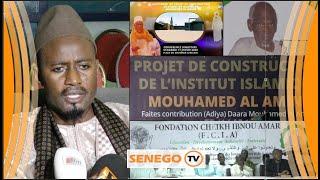 Prélude Magal Diémoul : Levée de fonds pour l'institut islamique (Senego TV)