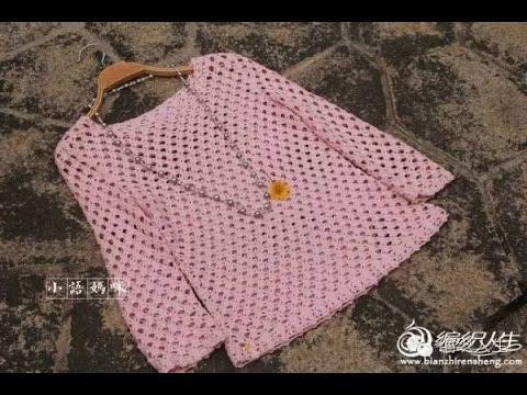 Crochet Patterns For Free Crochet Blouse 1641 Youtube