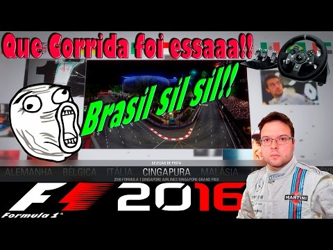 F1 2016 Singapore Grand Prix - Corrida