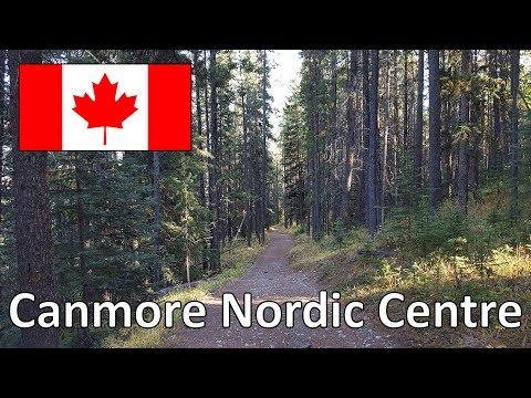 AMAZING Mountain Biking at the Canmore Nordic Centre - Alberta, Canada