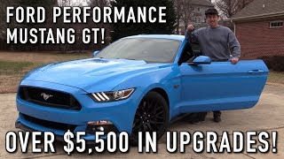 In Depth Tour and Test Drive of the 451hp Ford Performance Mustang GT!