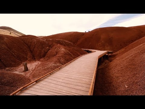 See the Painted Hills' Prehistoric Landscapes