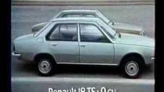 """Renault 18 - Anuncio """"Une exigence internationale"""" 1978"""