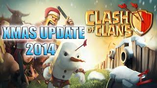 Clash Of Clans Updates Xmas Update! | Lvl 12 Collectors & Dark Elixer Drills Confirmed | Leaked Info