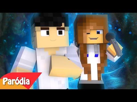 "Minecraft: PARÓDIA CLOSER ft BIBI - ""Virar Comida"""
