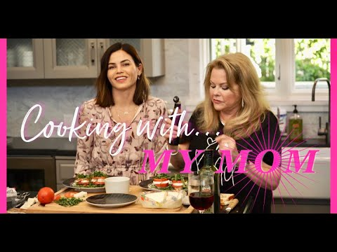 RECIPE: How To Make My Mom's FAMOUS Caprese Easy Summertime Snack! | Jenna Dewan