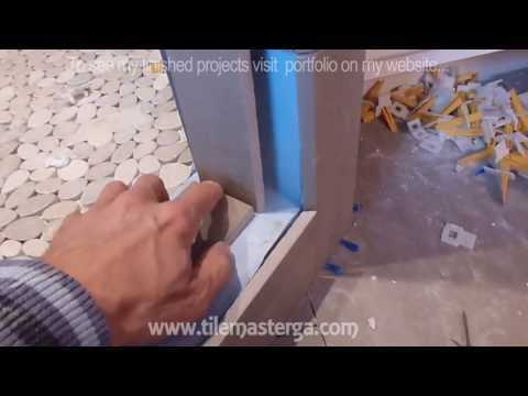 "How to install shower surround tile backer board & waterproofing membrane PART ""3"""