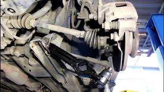 Замена переднего нижнего рычага Daewoo Matiz Дэу Матиз 0,8 механика 2011 года