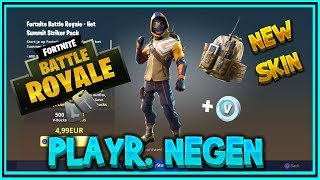 STARTER PACK met SUMMIT STRIKER nu in de FORTNITE STORE - PLAYR NEGEN (nederlands)