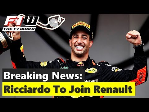 Breaking News: Daniel Ricciardo To Join Renault