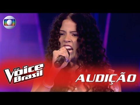 Júlia Ribeiro canta 'Paciência' nas Audições - 'The Voice Brasil'|5ª Temporada