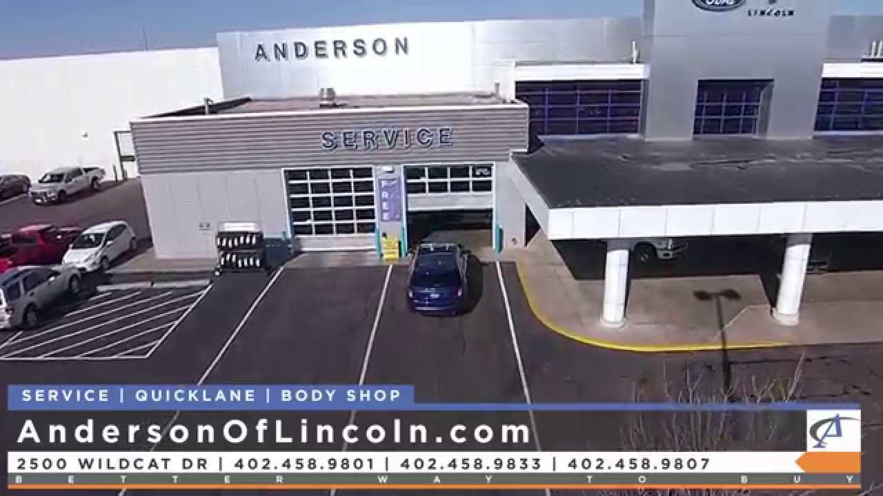 Anderson ford lincoln service quicklane and body shop introduction