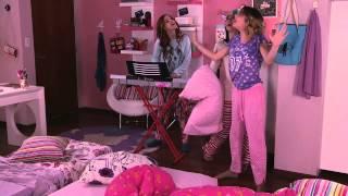 """Виолетта 3 - Фран, Ками и Вилу поют """"Encender nuestra luz"""" - эпизод 41"""