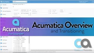Acumatica Overview Summary and Transitioning to the Platform - Recorded Webinar