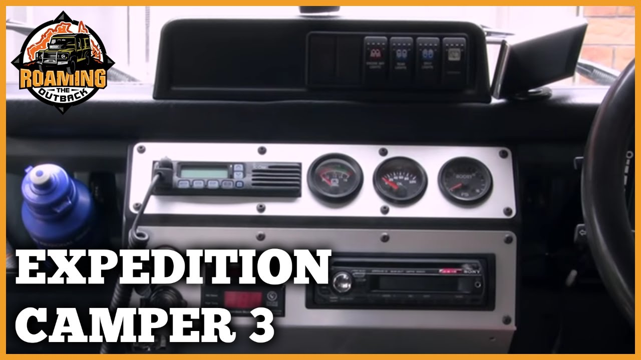 Land Rover Defender Expedition Camper Upgrade Part 3 Youtube
