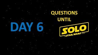 Questions Until Solo: Day 6