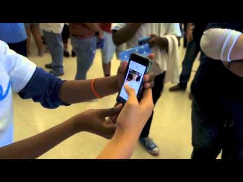 Demo of Glide App at Texas School for the Deaf - @GlideApp