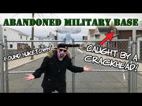 ABANDONED MILITARY BASE [ FOUND NUKE TOWN ] ( Naval Air Station in South Weymouth , Massachusetts )