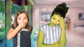 WHY are you GREEN? Is this a PRANK? spell book series episode 7