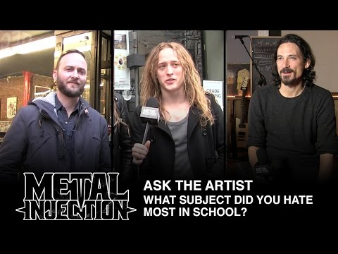 Ask The Artist - What Subject Did You Hate In School | Metal Injection