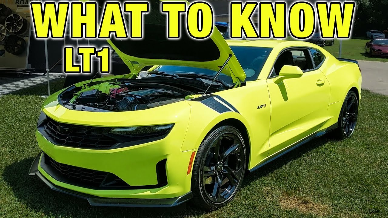 THE NEW 2020 CAMARO LT1 IS NOT A CAMARO SS! - YouTube