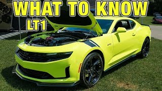 THE NEW 2020 CAMARO LT1 IS NOT A CAMARO SS!