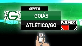 GOIÁS 2X1 ATLÉTICO/GO - SÉRIE B 2018 (27ª RODADA) AO VIVO