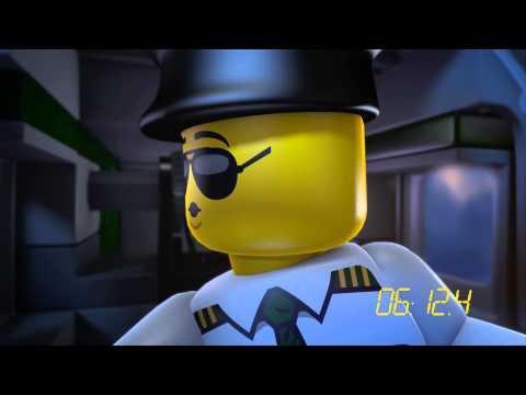 Мультфильм LEGO City ʺПриключение в воздухеʺ