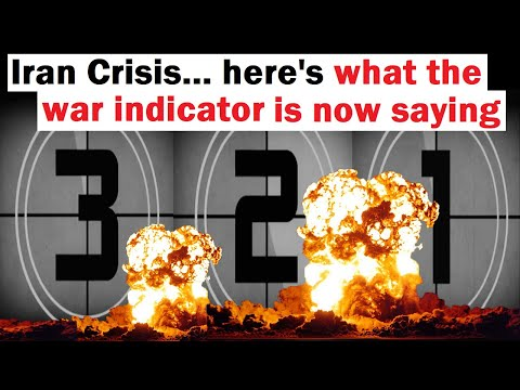 Iran Crisis... Here's What the War Indicator is Now Saying