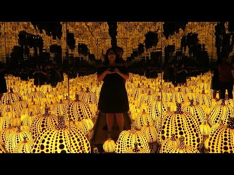 Yayoi Kusama Infinity Mirrors at the Dallas Museum of Art | RemixRuby