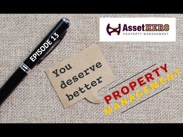 Asset Hero Podcast | Episode 13 Promo 2 | Asset Hero Property Management