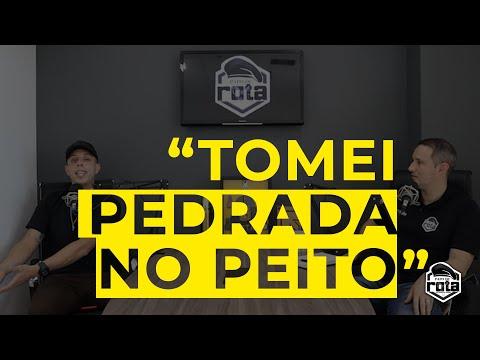"""TOMEI PEDRADA NO PEITO"" | SD FELIPE | PAPO DE ROTA"
