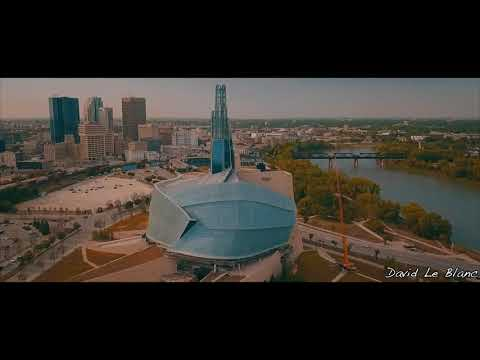 Downtown Winnipeg, Canada.