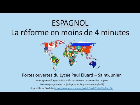 Présentation Espagnol Paul Eluard 87